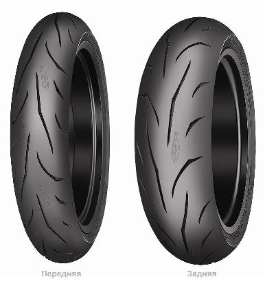 MITAS SPORTFORCE+ 120/70ZR17 58W TL Передняя